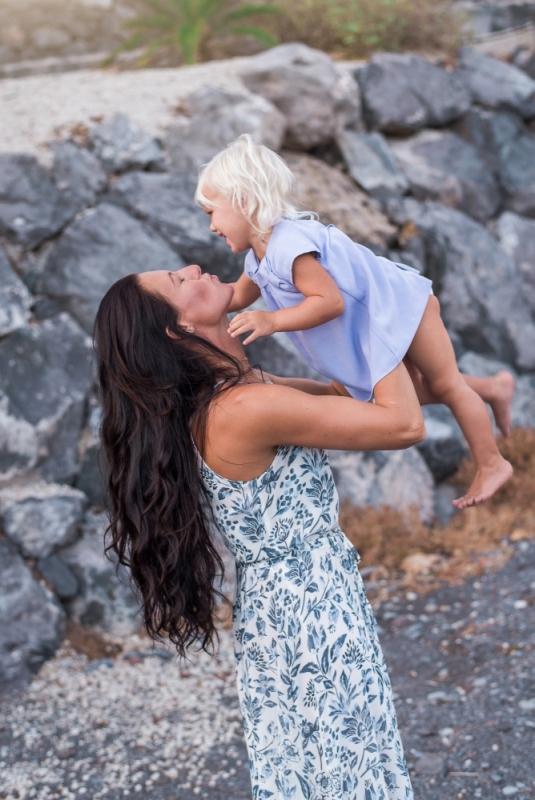 Fotosesija Mamma Meita Mīlestība Kleitas Vienādas Foto Cena Ģimenes Bērnu
