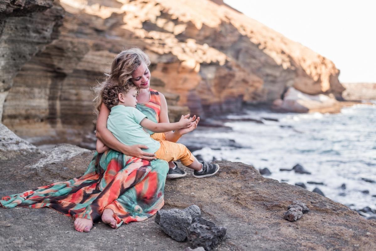 Ģimenes Fotosesija Tenerifē Dāvana Ceļojums Lidojums Fotogrāfs