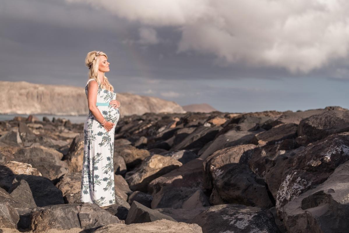 Labākais Fotogrāfs Ceļojums Foto Tenerife Fotosesija Pāru Grūtniecības