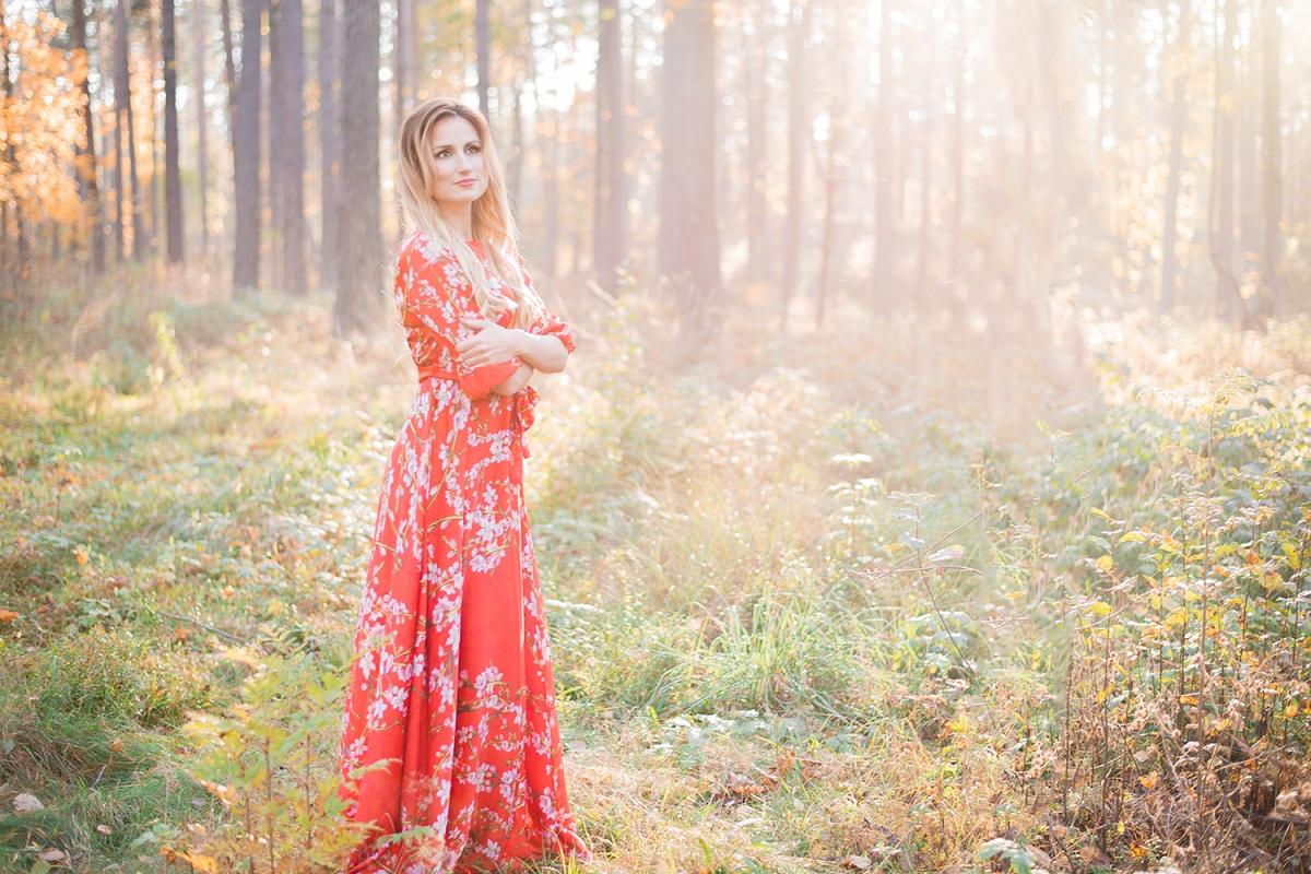 Zelta Rudens Fotosesija Ideja Dāvanai Sievietei Draudzenei Cena