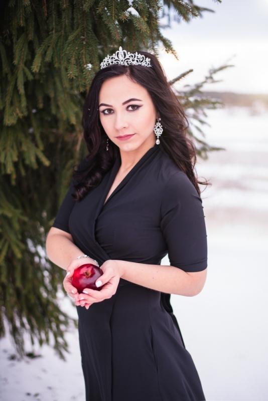 Ziema Sniegs Interesanta Ideja Fotosesijai Dāvanai Sievai Draudzenei Sniegbaltīte Ziemassvētki