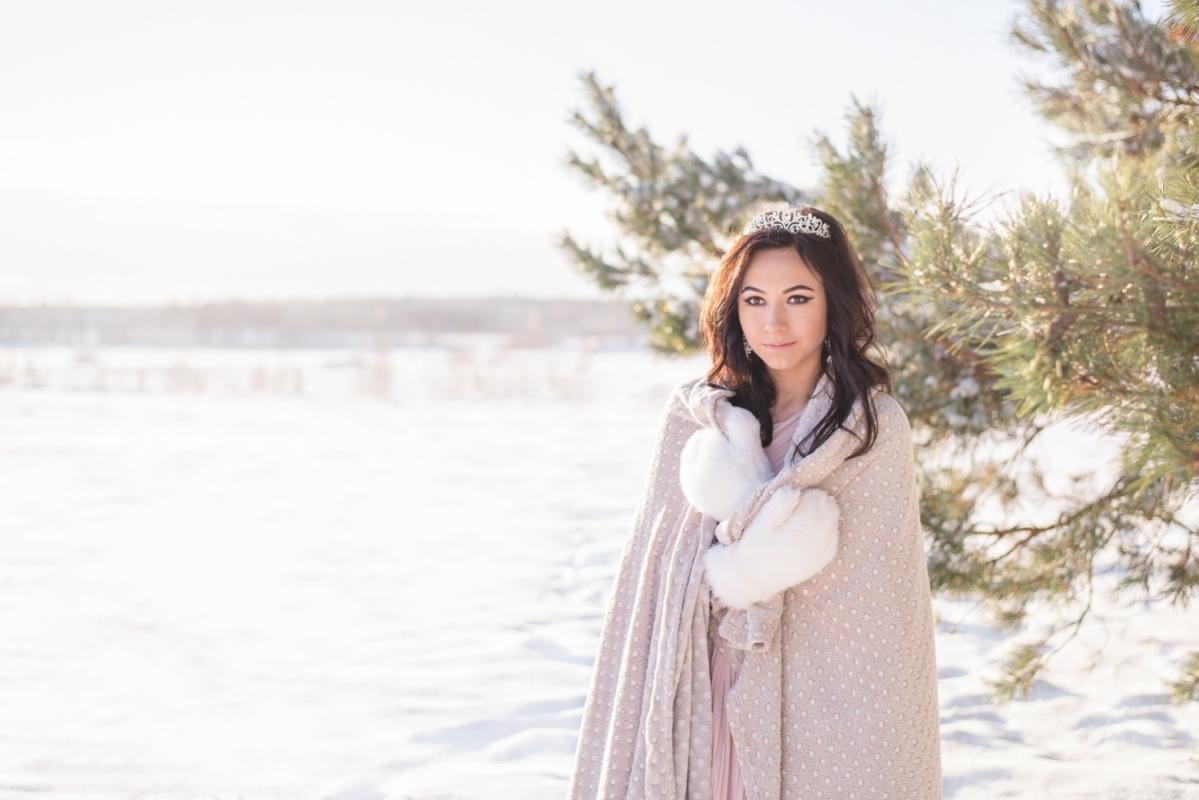 Ziema Sniegs Interesanta Ideja Fotosesijai Dāvanai Sievai Draudzenei Ziemassvētkos